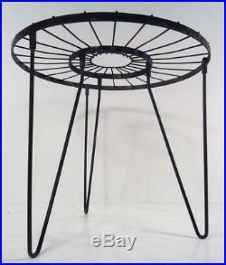 Rare Umanoff Style Eames Jere Sunburst Mid Century Modern Garden Table Brutalist