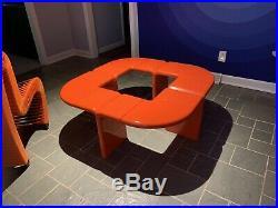 Rare Umbo Coffee Table Kartell Space Colani Kay Leroy Ruggles