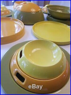 Rare Villeroy and Boch Avant Garde La Boule Tableware, 1971, Helen Von Boch