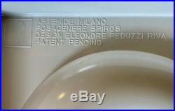 Rare Vintage Artemide Mid Century SPIROS ashtray ITALY Eleonore Pedizzo Riva