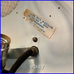 Rare Vintage Lightolier Counter Balance Swag Lamp, Gerald Thurston, Signed