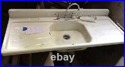 Rare Vintage Mid Century Modern Kitchen Complete Set Metal Cabinets and Sink