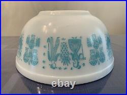 Rare Vintage Pyrex REVERSE Butterprint (LADY ON THE LEFT) 403 Mixing Bowl