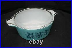 Rare Vintage Pyrex Saxony Promotional 475-B Cinderella Casserole Dish With Lid -A5