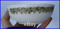 Rare Vintage Pyrex Spring Blossom 705 Tableware Cereal Bowl Restaurant Ware