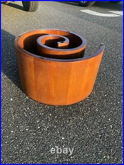 Rare Vladimir Kagan Snail Coffee table