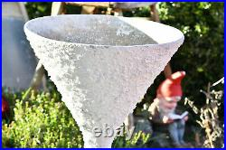 Rare WILLY GUHL DIABOLO ETERNIT PLANTER from the 60`s with structure