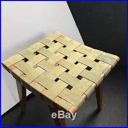 Rare midcentury ottoman by Jens Risom for Knoll Associates 1940's