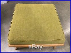Robsjohn Gibbings for Widdicomb Lounge Chair & Ottoman Mid Century Modern, Rare