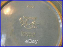 Roseville Ben Seibel Raymor RARE BUN WARMER in BLUE WONDERFUL