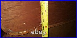 SET 2 RARE Danish MCM Solid TEAK Wood Modular Wall Units Desk and pull out type