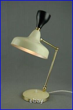 STILNOVO Table Lamp Atomic Kalmar Mid Century Vintage Italy 1950s 60s 70s RARE