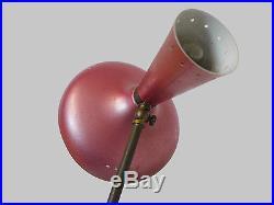 Stunning Original ARREDOLUCE FLOOR LAMP Multicolored Modernist, Italy 1950s rare