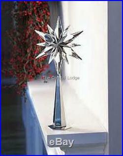 Swarovski Rockefeller Shining Star Tree Topper 843215 Mint Boxed Retired Rare
