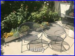 Tempestini Custom Satellite Hoop Bench Seat, Rare, Black, Excellent Condition