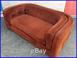 Two Piece Adrian Pearsall Sofa Set for Craft Associate Mid Century Modern Rare