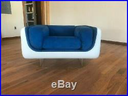 Very Rare Fully Restored mid century William Andrus lounge chair for Steelcase