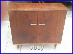 Very Rare Mid Century Modern University TMS-2 Console Stereo Speaker Cabinet