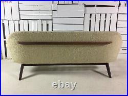 Vintage Adrian Pearsall All Original 1810-S Sofa Excellent! Original Tag Rare