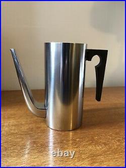 Vintage Arne Jacobsen Cylinda-Line Stelton Rare Small Coffee Pot Danish Design
