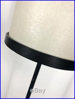 Vintage Ben Seibel Raymor Minimalist Iron Floor Lamp Mid Century Modern Rare 50s