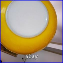 Vintage Bright Yellow 4-Piece Pyrex Mixing Bowl Set RARE 401 402 403 404