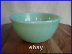 Vintage Fire King Jadeite Swirl Bowl VERY RARE Baby 5