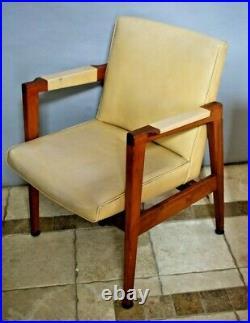 Vintage Gunlocke Armchair Lounge Chair Classic Mid Century Modern Rare Style