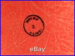 Vintage Herman Miller Eames PSC 1950s Pink/Orange Zenith Prime Rare Base