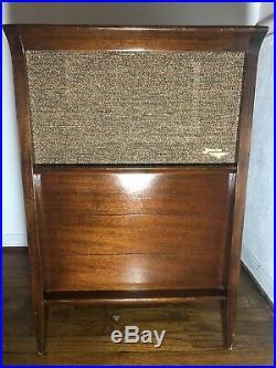 Vintage Jensen Speaker SS-100 3-way Rare Mid-Century Modern MCM Antique Cabinet