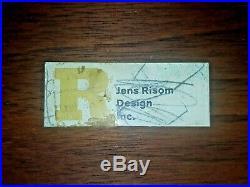 Vintage Mid 20th Century Modern Jens Risom Walnut End SideTable Eames Era Rare