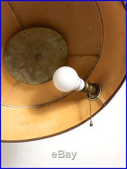 Vintage Mid Century Modern Art Deco Aluminum Floor Lamp Kurt Versen Early Rare