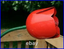 Vintage Mid Century Modern Peter Bliss Metal Tulip Table Lamp Rare