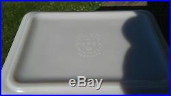 Vintage PYREX Rare HTF 503 ULYSSES GLASS EXPERIMENTAL PROTOTYPE REFRIGERATOR
