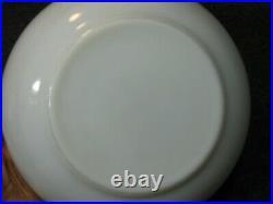 Vintage Promo Pyrex Mixing Bowl Turquoise Diamond Pattern HTF RARE FREE SHIPPING