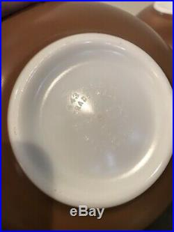 Vintage Pyrex Rare Early American Cinderella Bowl Set