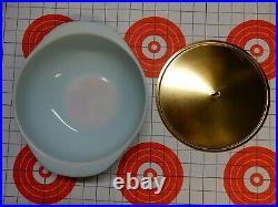 Vintage RARE Turquoise 2qt PYREX UFO Casserole (024) Part of Atomic Sputnik MCM