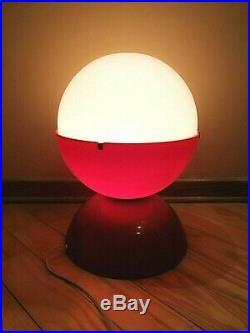 Vintage Space Age Estoplast Globe Desk Lamp Two Tomes. Super Rare