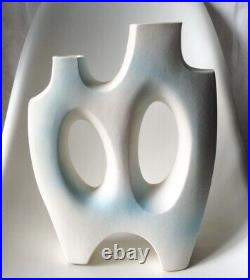Vintage Toyo Ikebana Vase Modern Rare! Japan / Lagardo Tackett Sottsass MCM