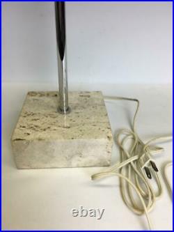 Vtg 70s Paul Mayen Globe Table Lamp Light Mid Century Modern Atomic Retro Rare