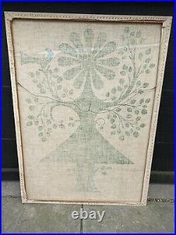 Vtg Alexander Girard Fabric Eames Wall Hanging Herman Miller Art 1970s Rare