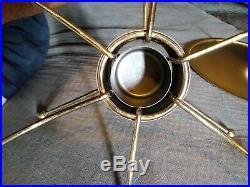Vtg mcm Rare Promotional Pyrex UFO Atomic Age 2 QT Casserole & Warmer #924CM