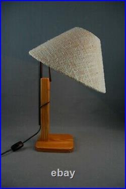 XL KAISER Table Lamp Vintage Bauhaus Mid Century Eames Panton 1950s 60s 70s RARE